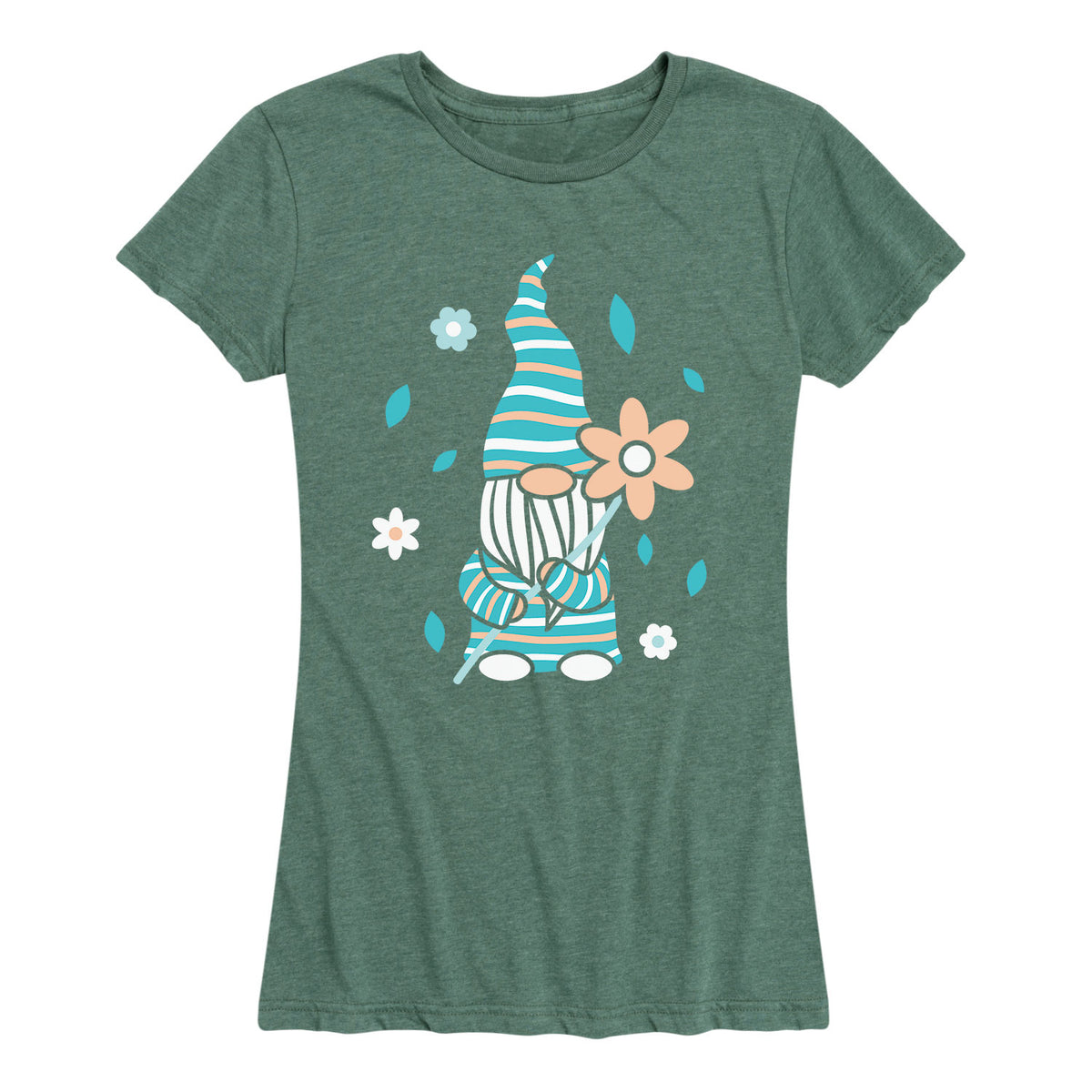 Scandinavian Garden Gnome - Women's Short Sleeve T-Shirt