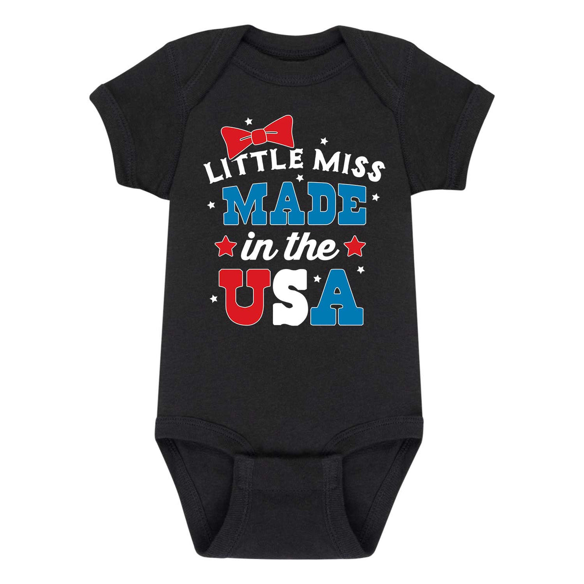 Little Miss Made USA - Infant One Piece