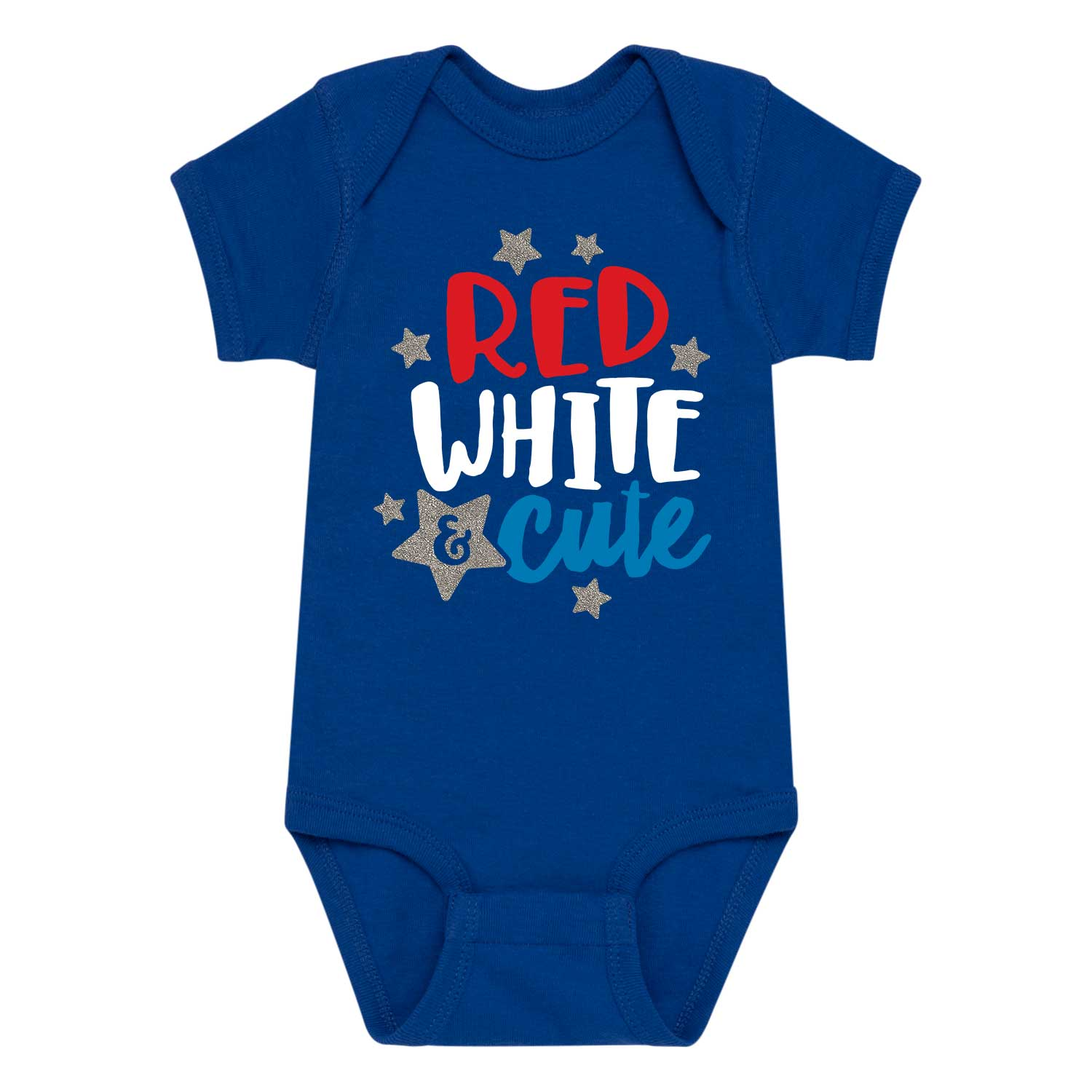 Red White Cute - Infant One Piece