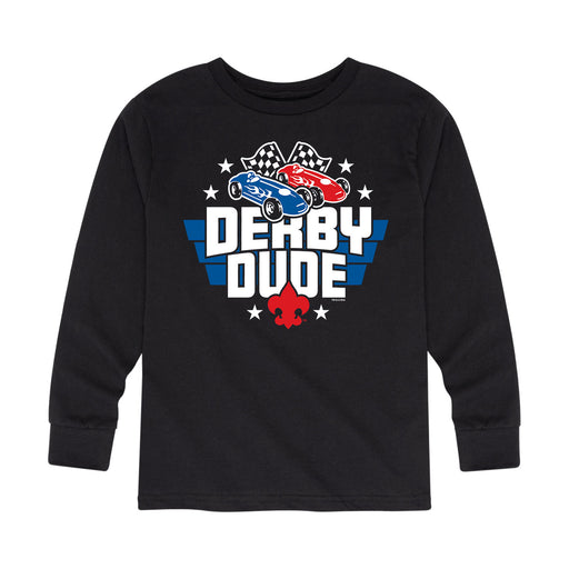 Scouts BSA - Derby Dude - Youth Long Sleeve T-Shirt