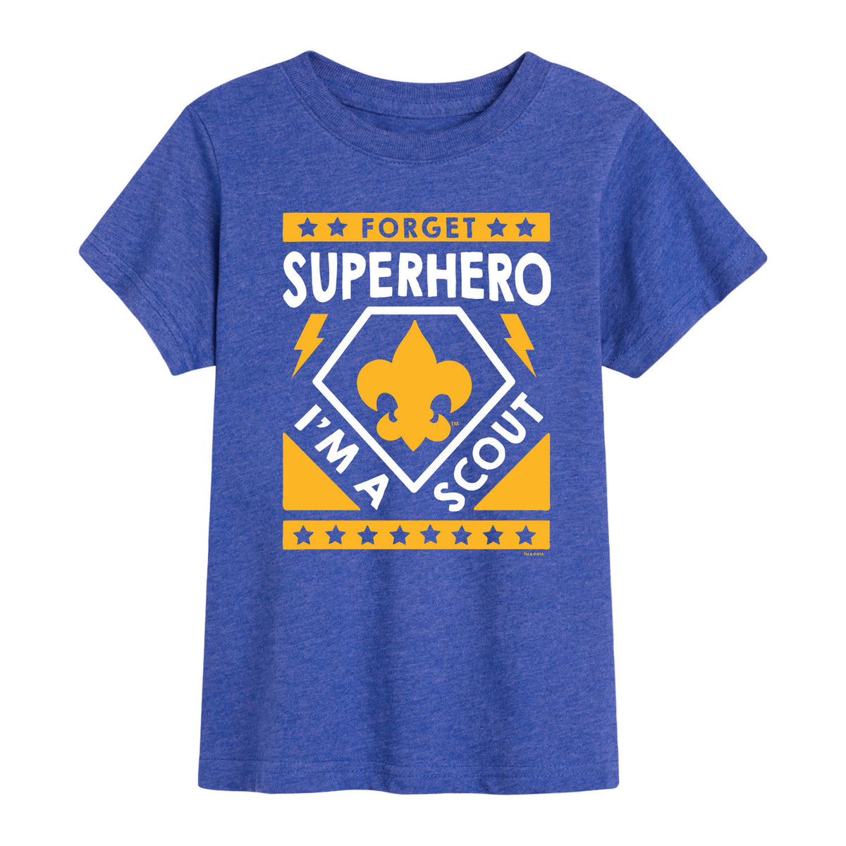 Scouts BSA - Forget Superhero I'm A Scout - Youth Short Sleeve T-Shirt