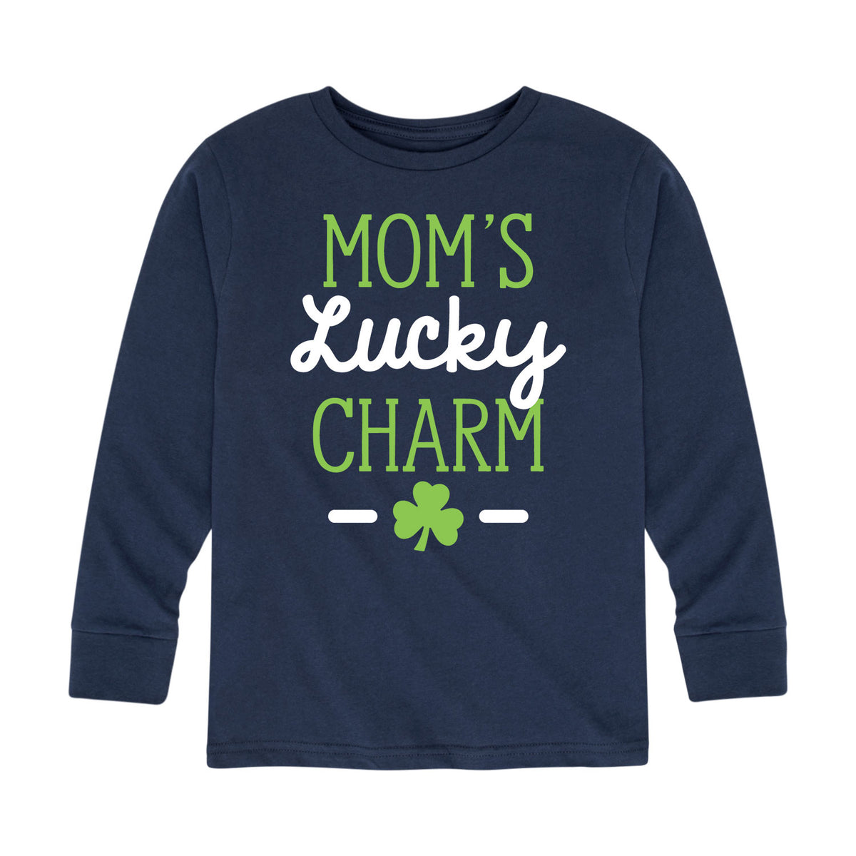 Mom's Lucky Charm - Toddler Long Sleeve T-Shirt