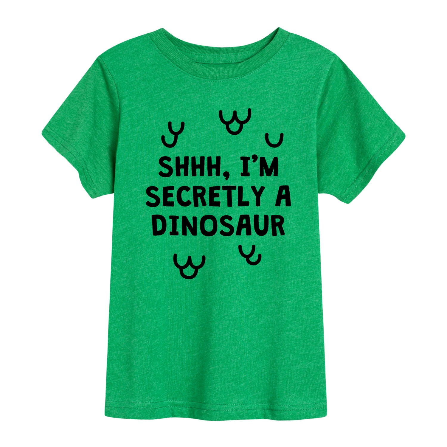 Secretly A Dinosaur - Toddler Short Sleeve T-Shirt