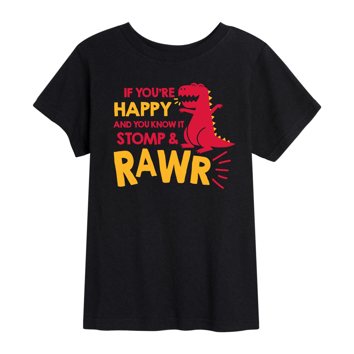 Stomp And Rawr - Toddler Short Sleeve T-Shirt