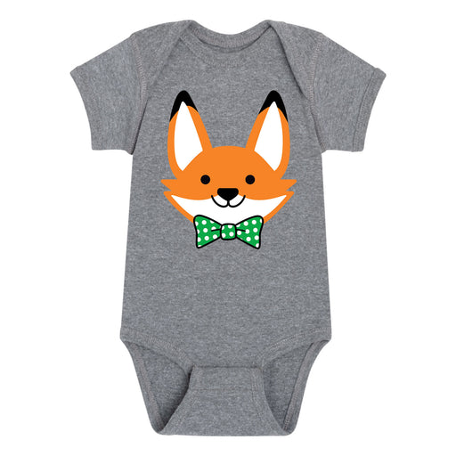 Green Bow Baby Fox - Infant One Piece