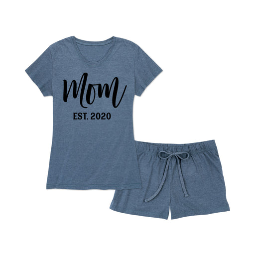 Mom Est 2020 - Women's Pajama Shorts Set