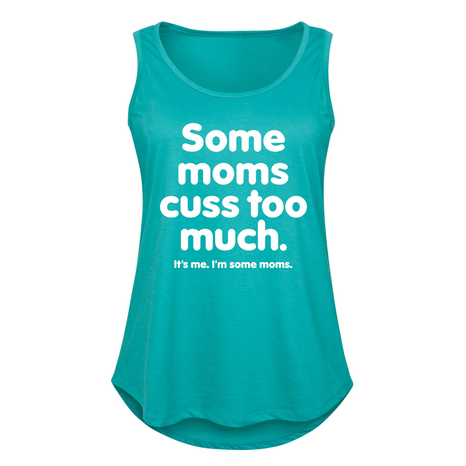 Some Moms Cuss Too Much - Women's Plus Size Tank