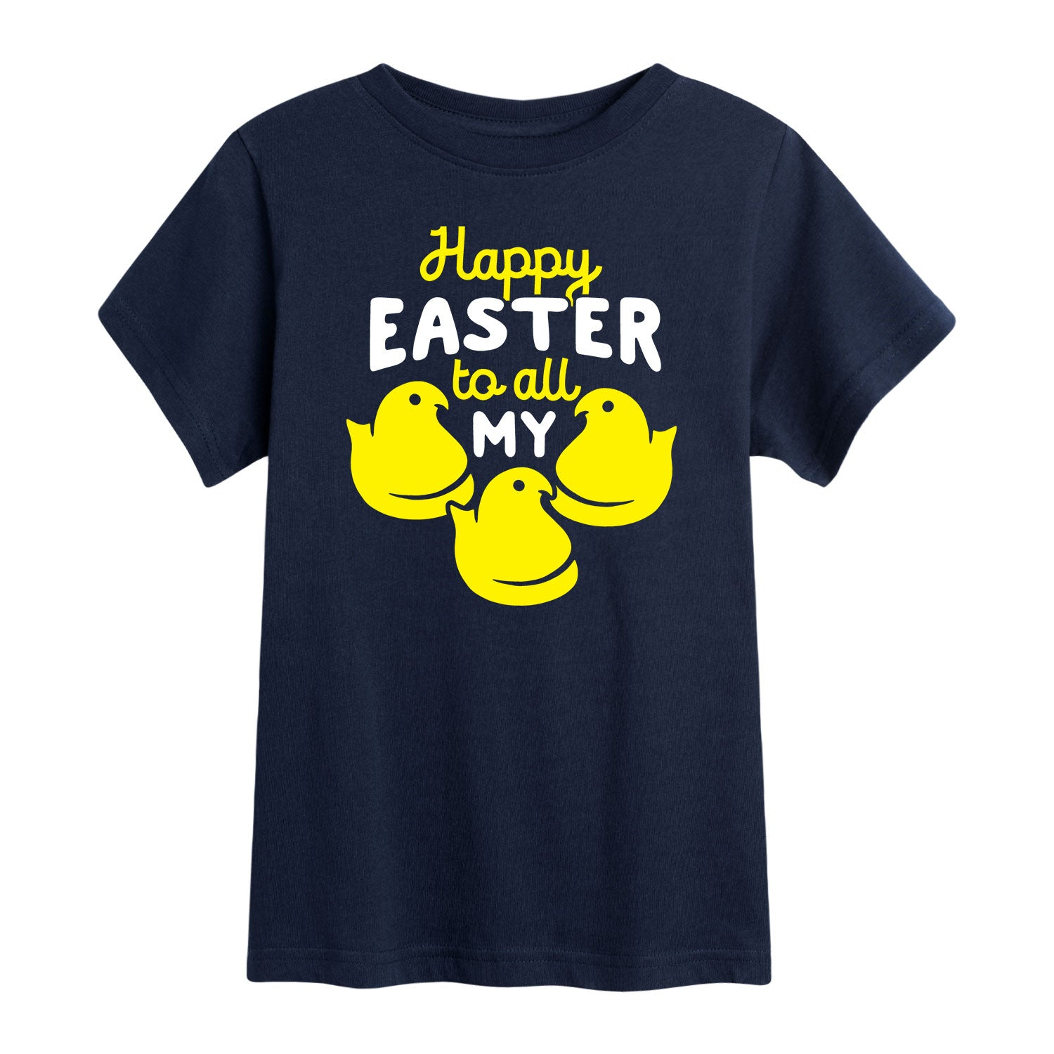 Happy Easter to all My Peeps - Youth Short Sleeve T-Shirt
