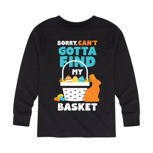 Sorry Can't Basket - Toddler Long Sleeve T-Shirt