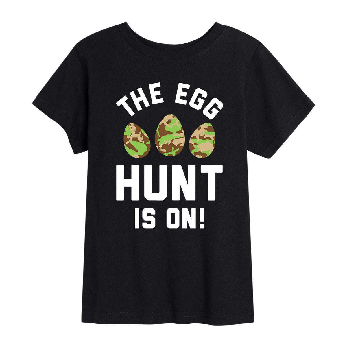The Egg Hunt Is On - Youth Short Sleeve T-Shirt