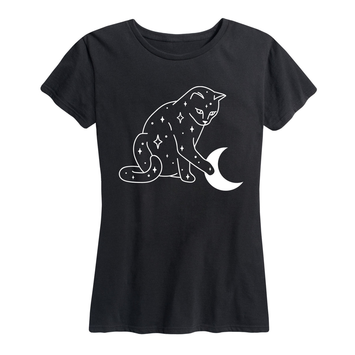 Starry Cat-Womens - Women's Short Sleeve T-Shirt