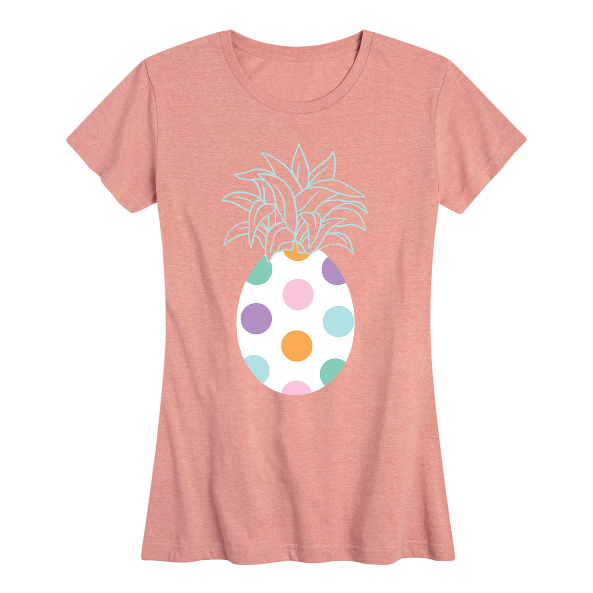 Easter Egg Pineapple - Women's Short Sleeve T-Shirt