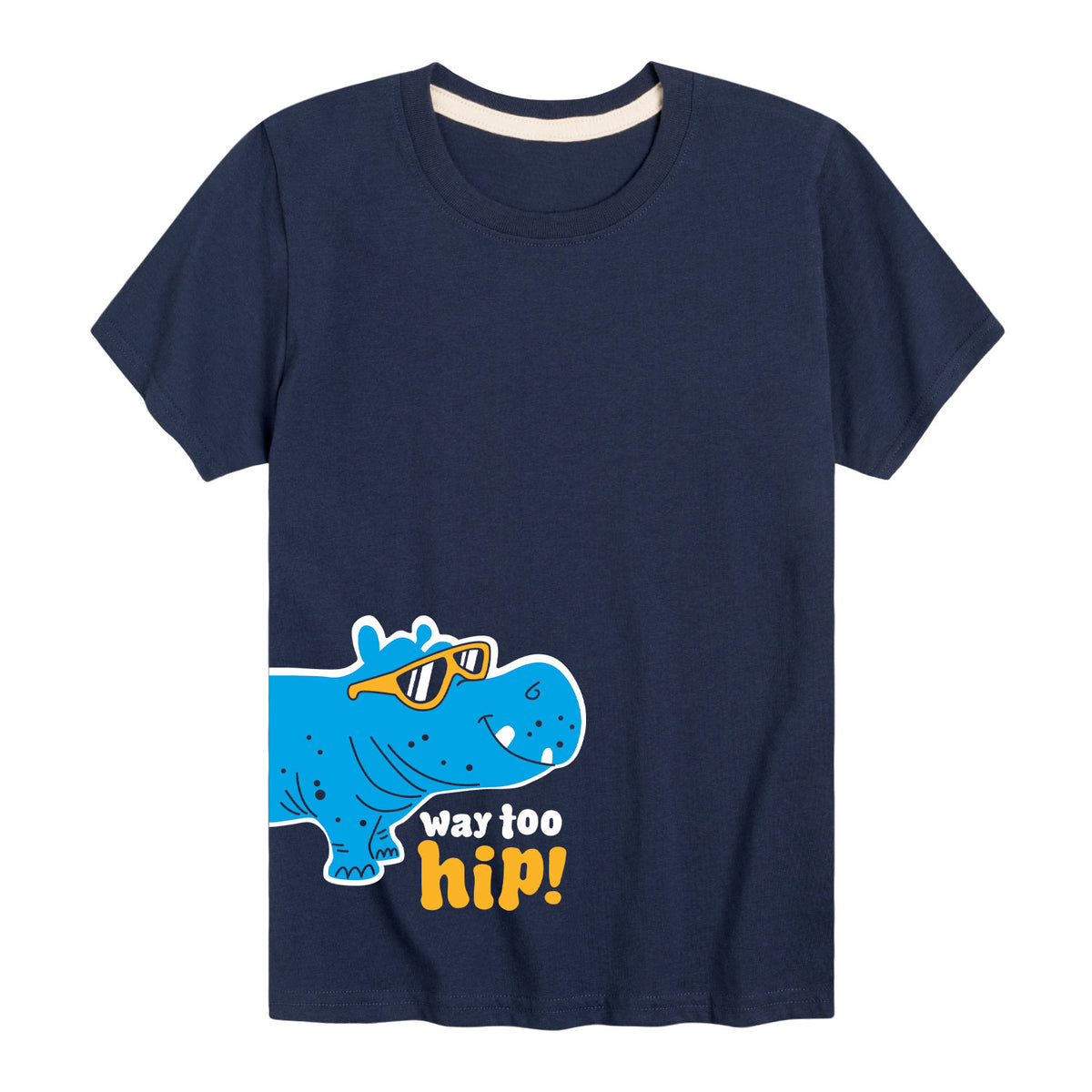 Way Too Hip - Youth & Toddler Short Sleeve T-Shirt