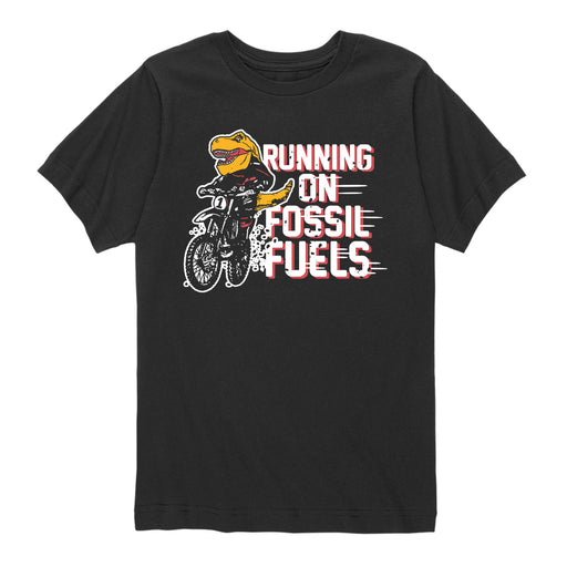 Running on Fossil Fuels - Toddler Short Sleeve T-Shirt
