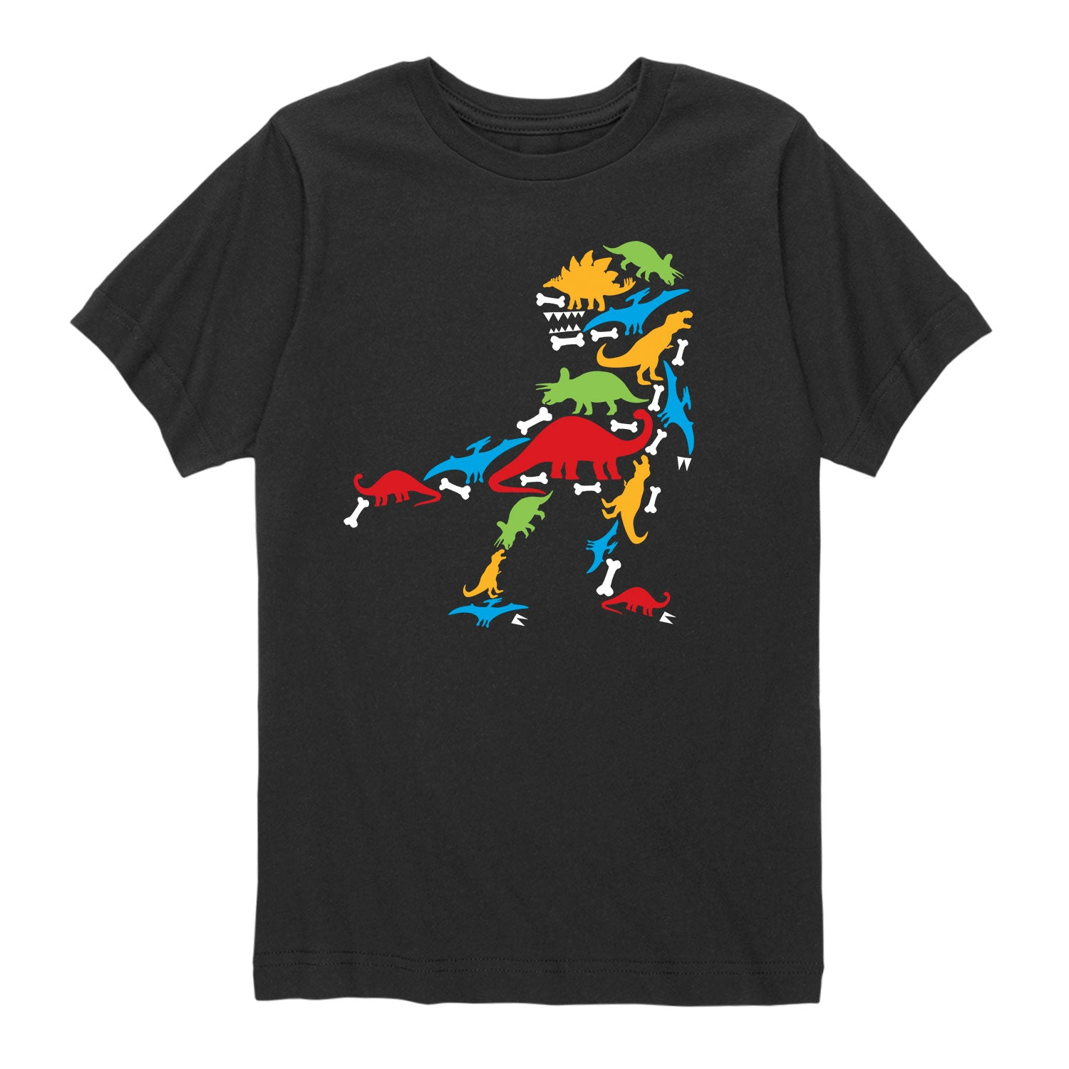 Dino Made of Dinos - Toddler Short Sleeve T-Shirt