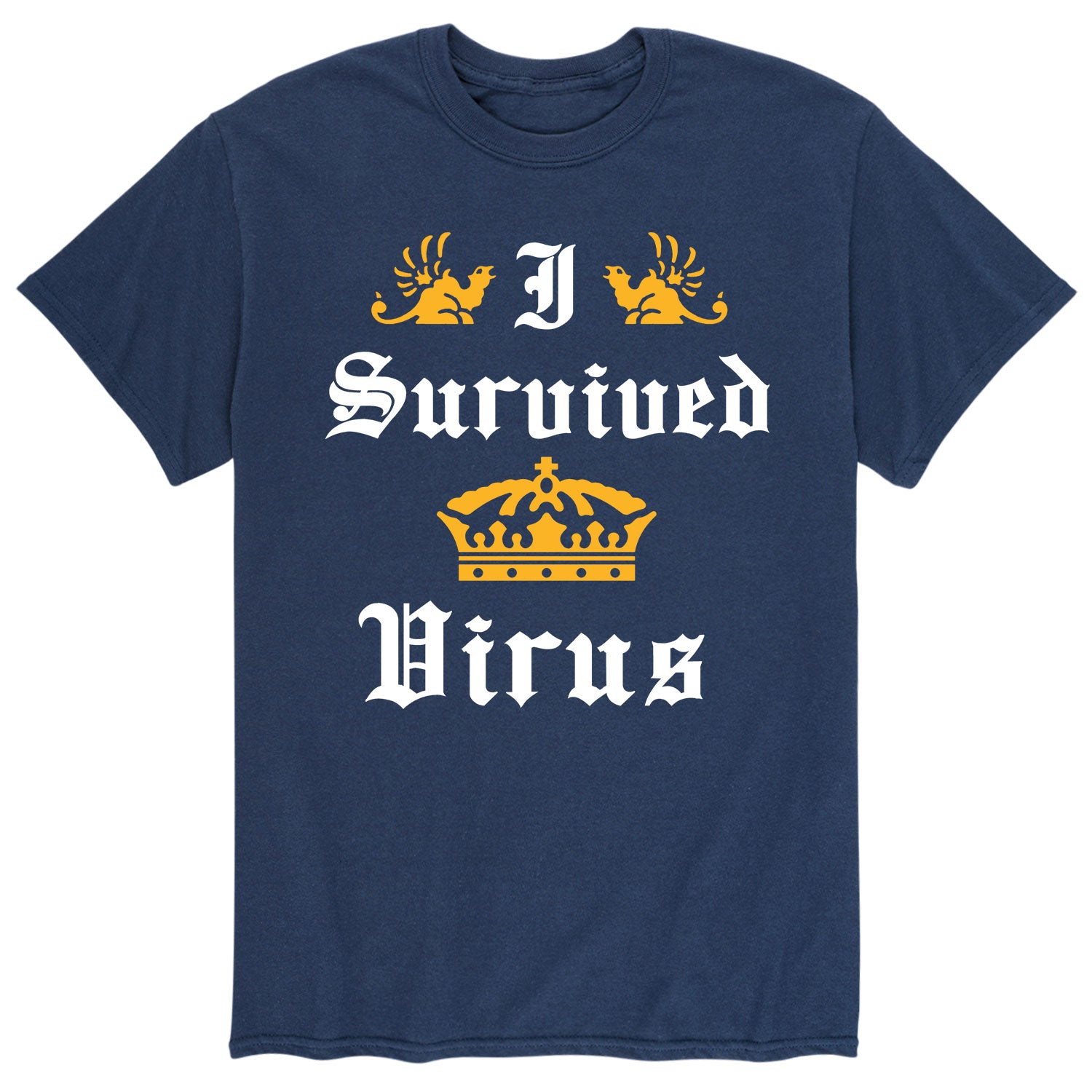 I Survived Coronavirus - Men's Short Sleeve T-Shirt
