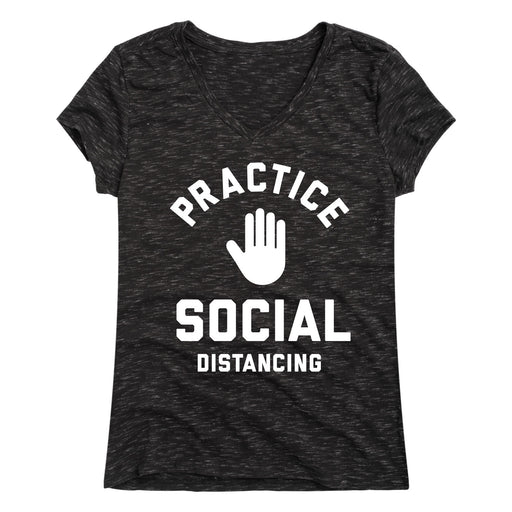 Practice Social Distancing - Women's Short Sleeve T-Shirt