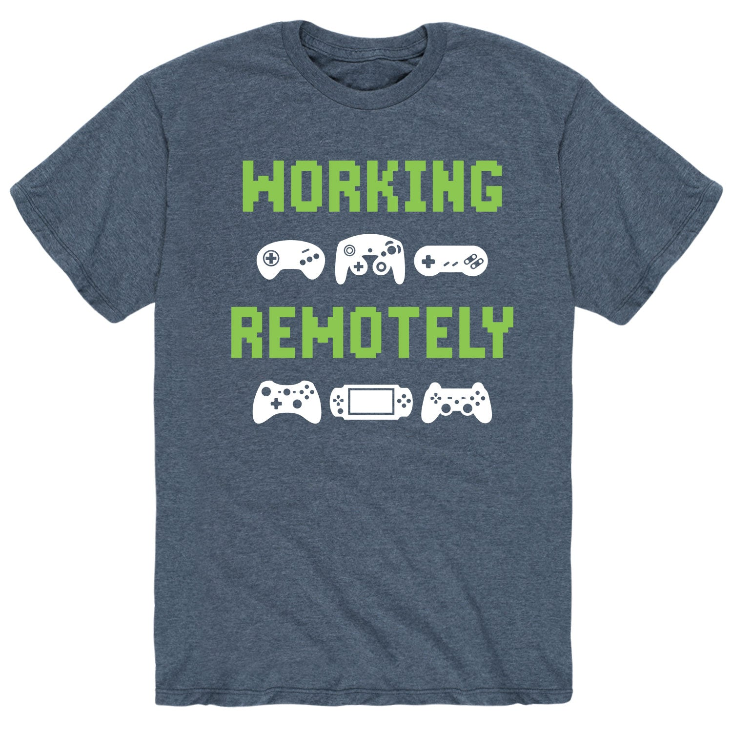 Working Remotely - Men's Short Sleeve T-Shirt