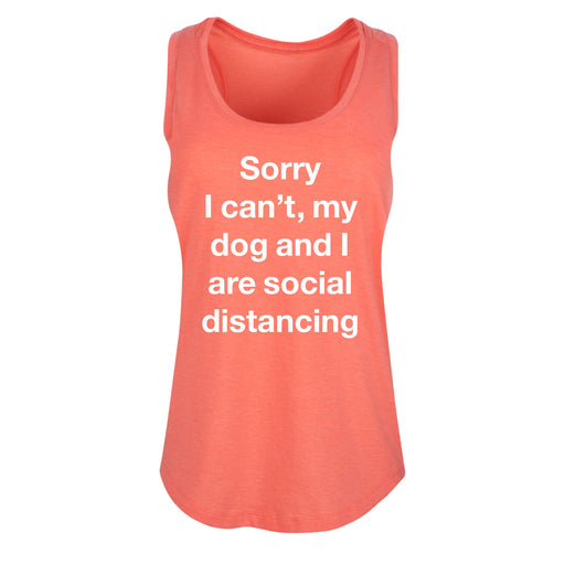 Dog And I Social Distancing - Women's Tank