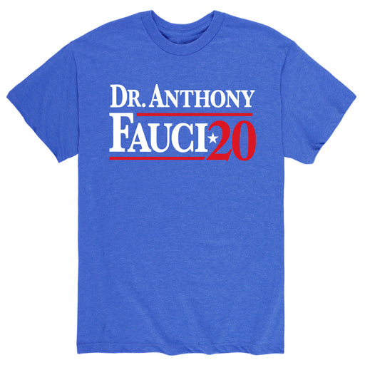 Dr. Anthony Fauci 2 0- Men's Short Sleeve T-Shirt