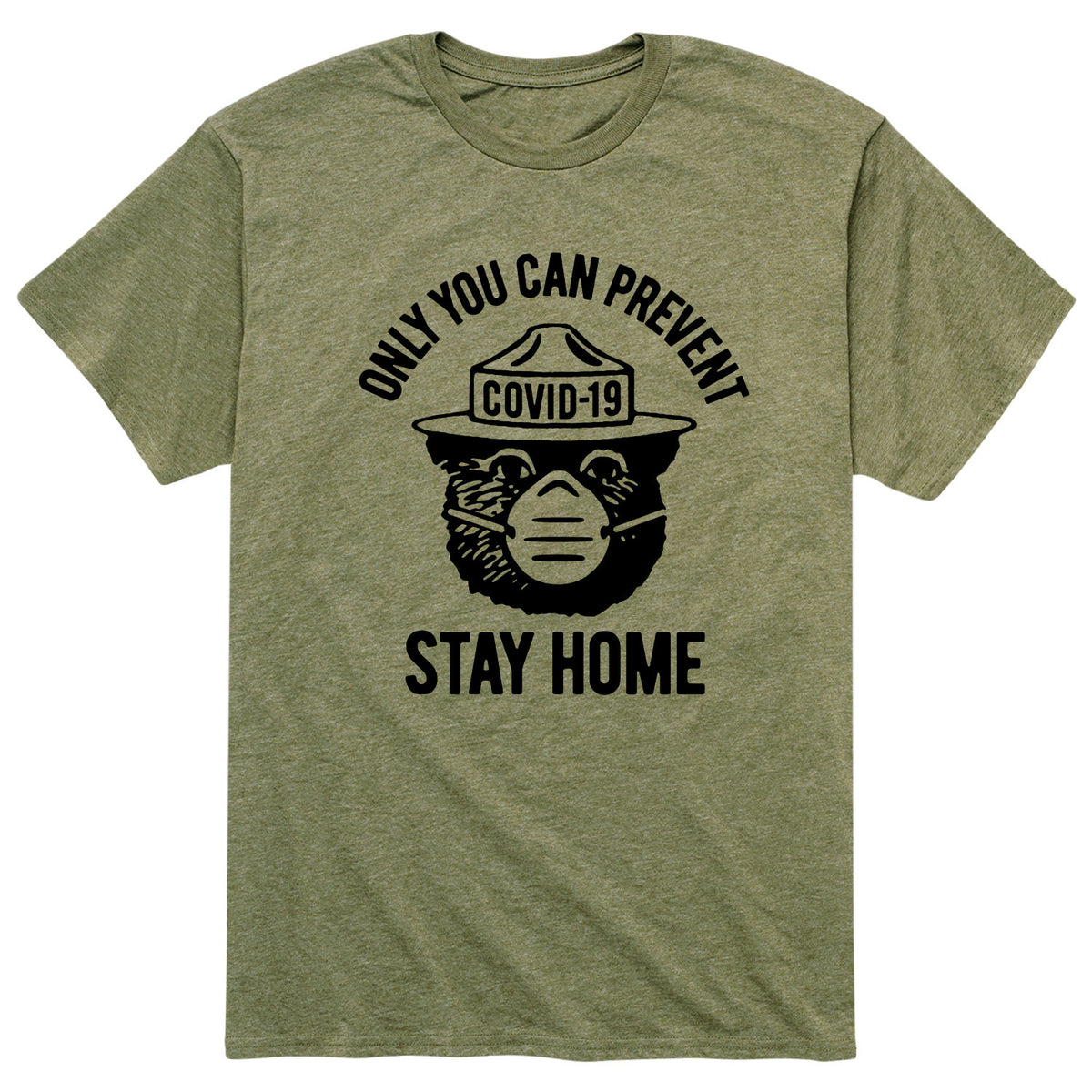 Only You Can Prevent Covid-19 - Men's Short Sleeve T-Shirt