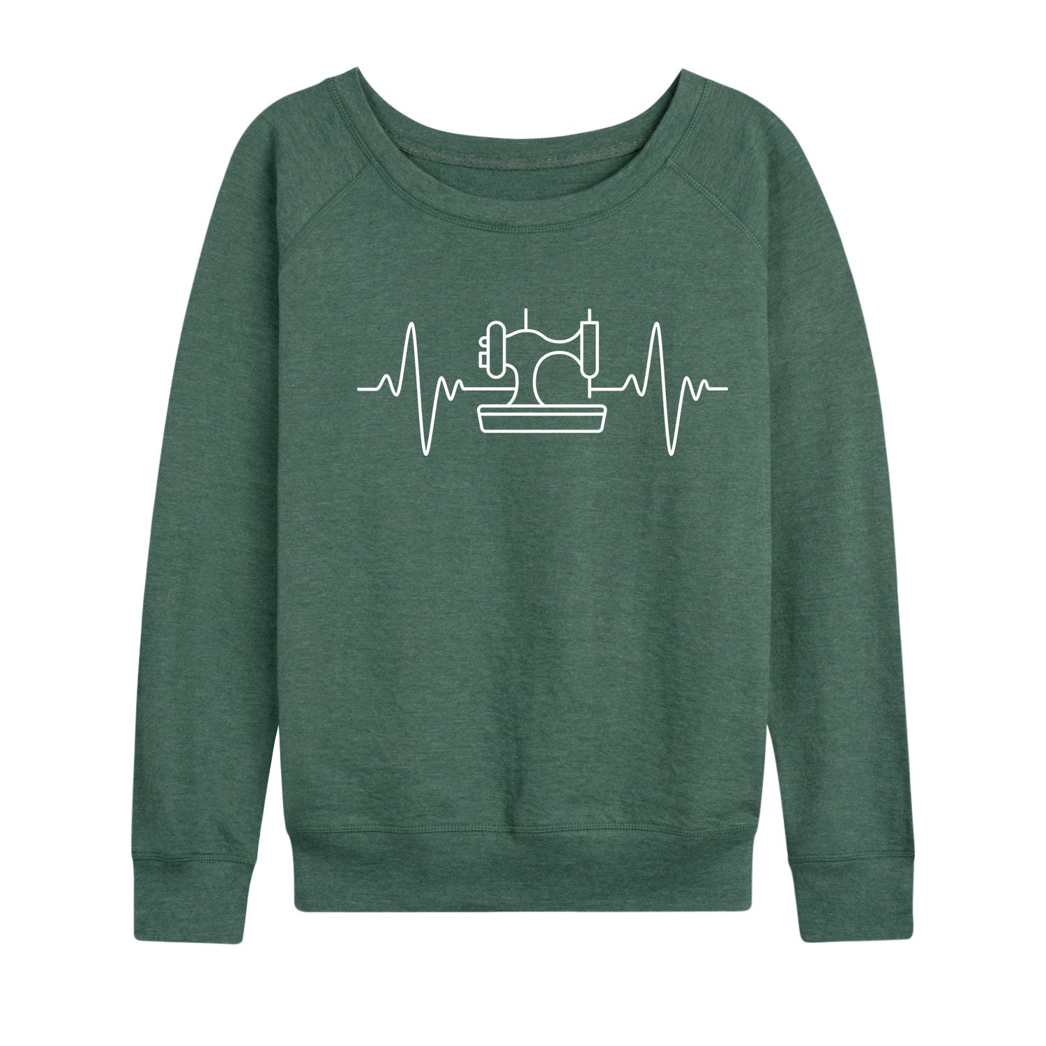 Sewing Machine EKG - Women's Slouchy