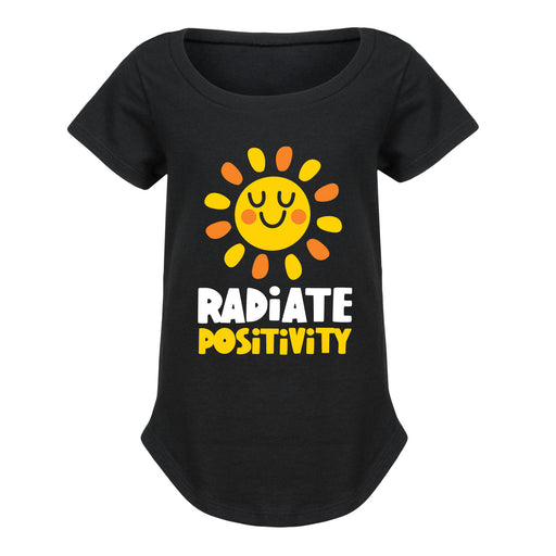 Radiate Positivity - Youth Girl Short Sleeve T-Shirt