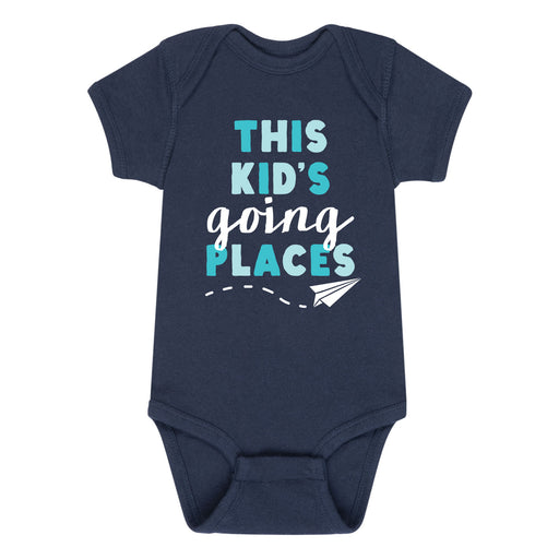 This Kid's Going Places - Infant One Piece