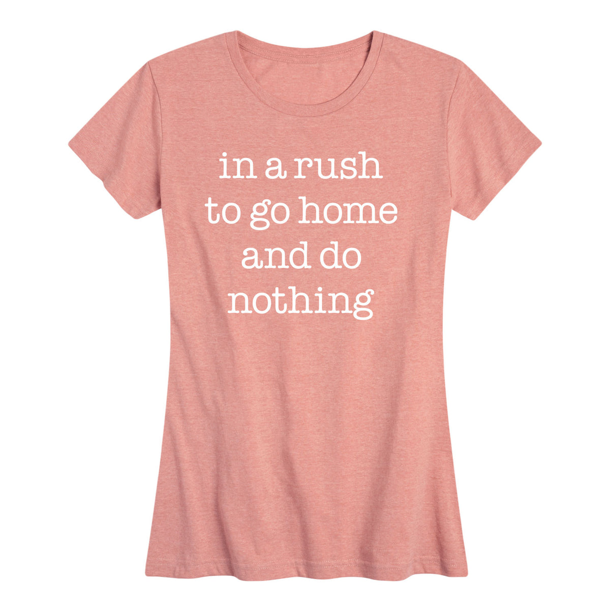 In A Rush To Go Home - Women's Short Sleeve T-Shirt
