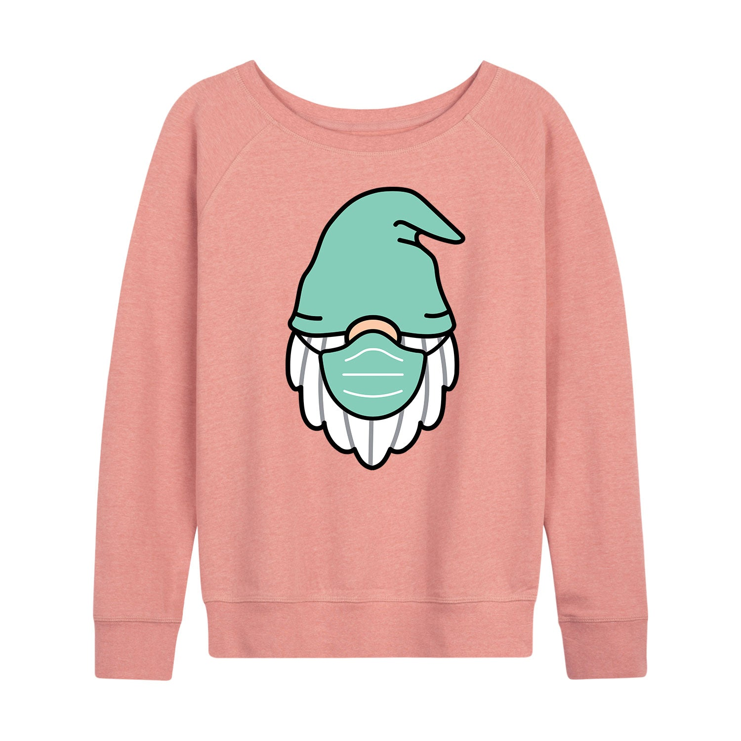 Gnome With Face Mask - Women's Slouchy