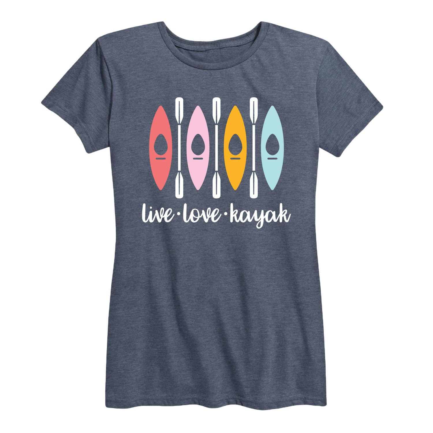 Live Love Kayak - Women's Short Sleeve T-Shirt