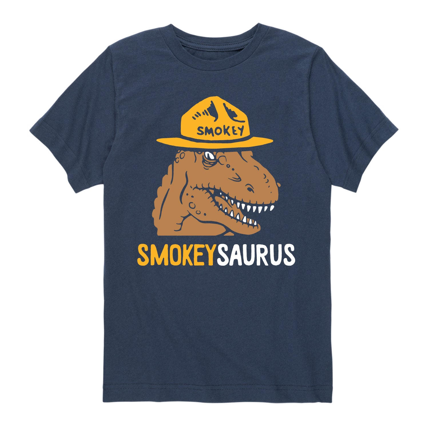 Smokeysaurus - Youth & Toddler Short Sleeve T-Shirt