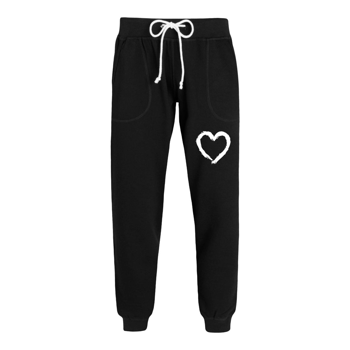 Paintbrush Stroke Heart - Women's Joggers
