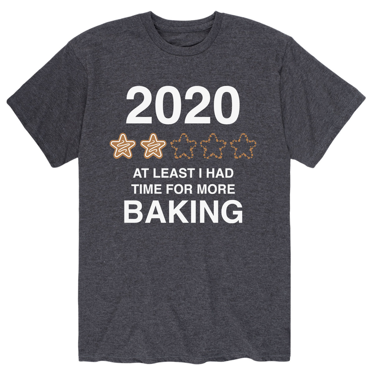 2020 More Time For Baking - Men's Short Sleeve T-Shirt