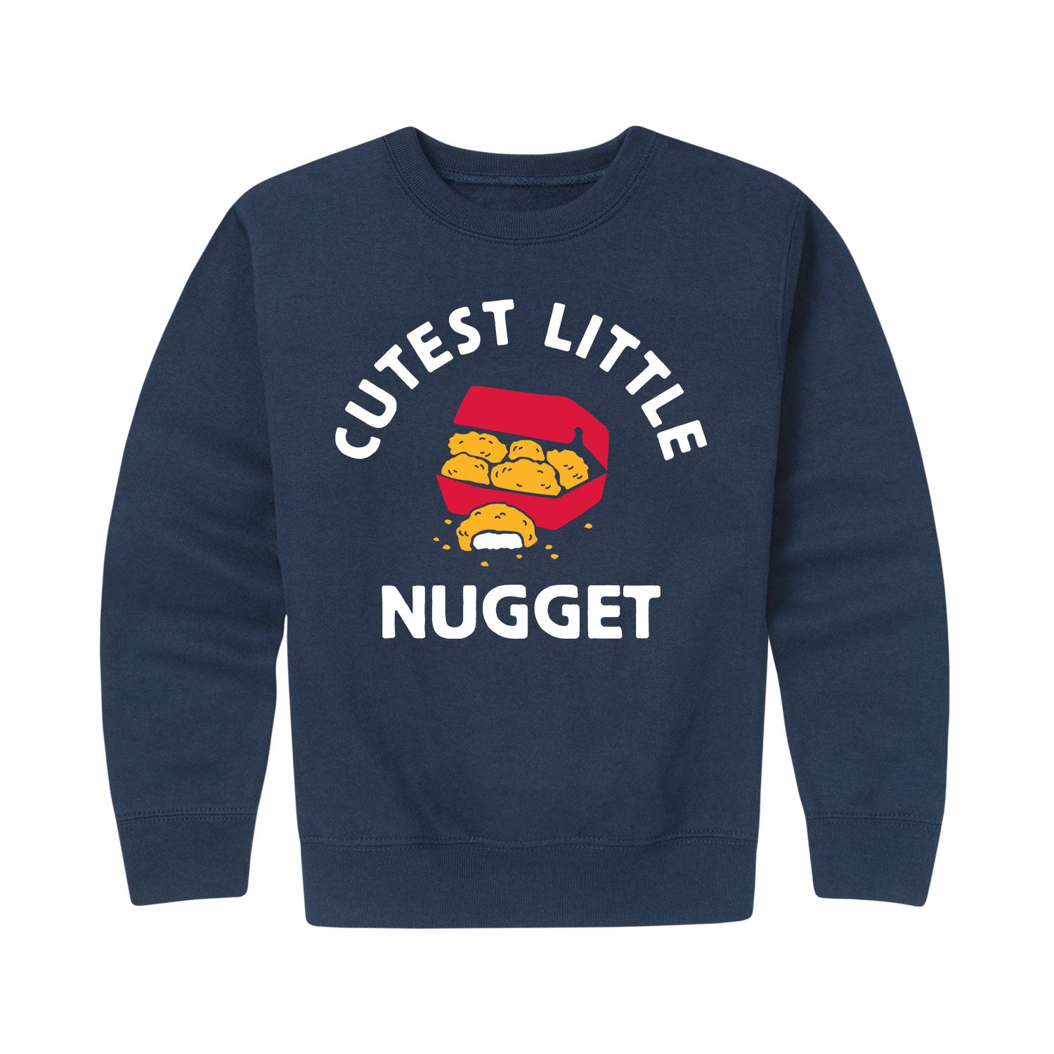 Cutest Little Nugget - Youth & Toddler Crew Neck Fleece