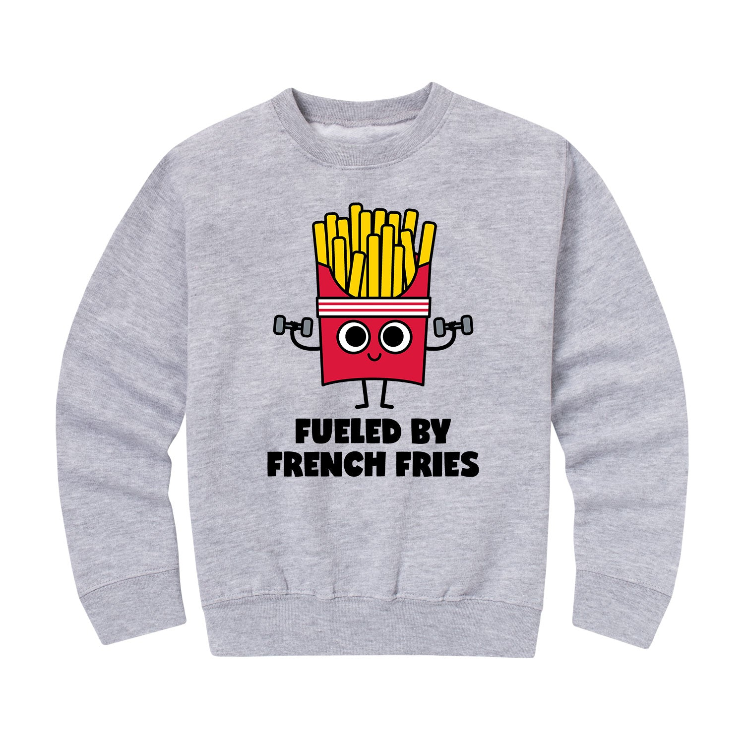 Fueled By French Fries - Youth & Toddler Crew Neck Fleece
