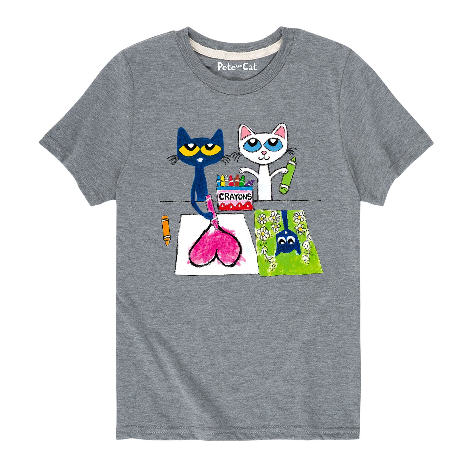 Pete And Calli Drawing - Youth & Toddler Short Sleeve T-Shirt