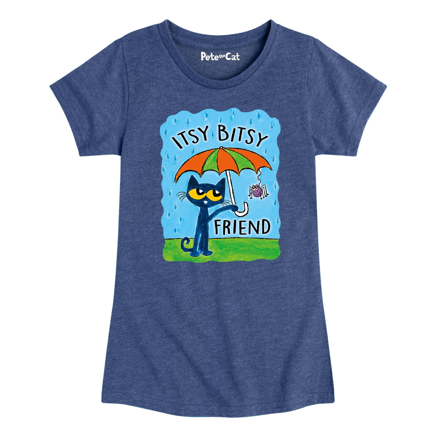Itsy Bitsy Friend - Youth & Toddler Girls Short Sleeve T-Shirt