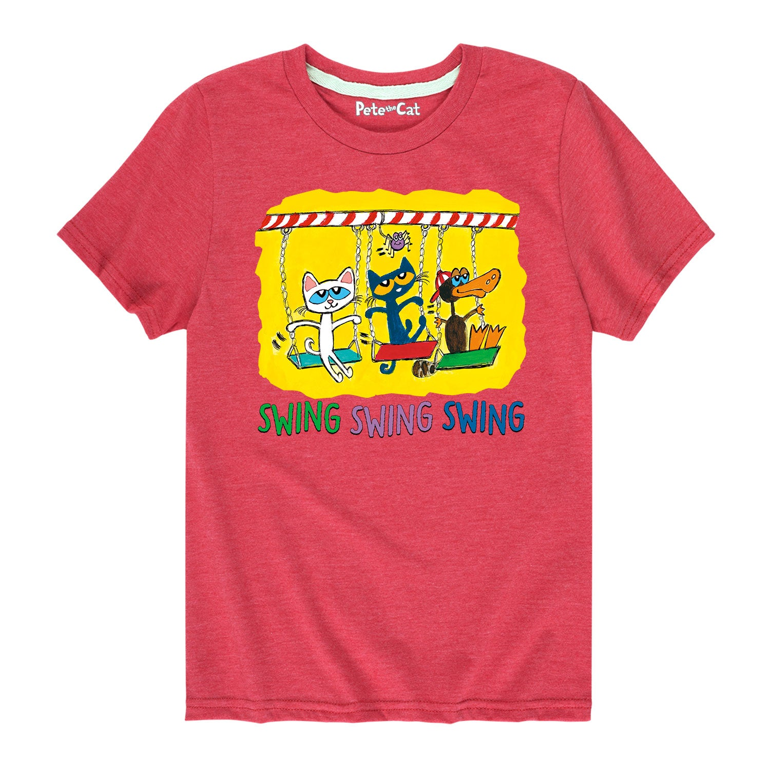 Swing Time - Youth & Toddler Short Sleeve T-Shirt