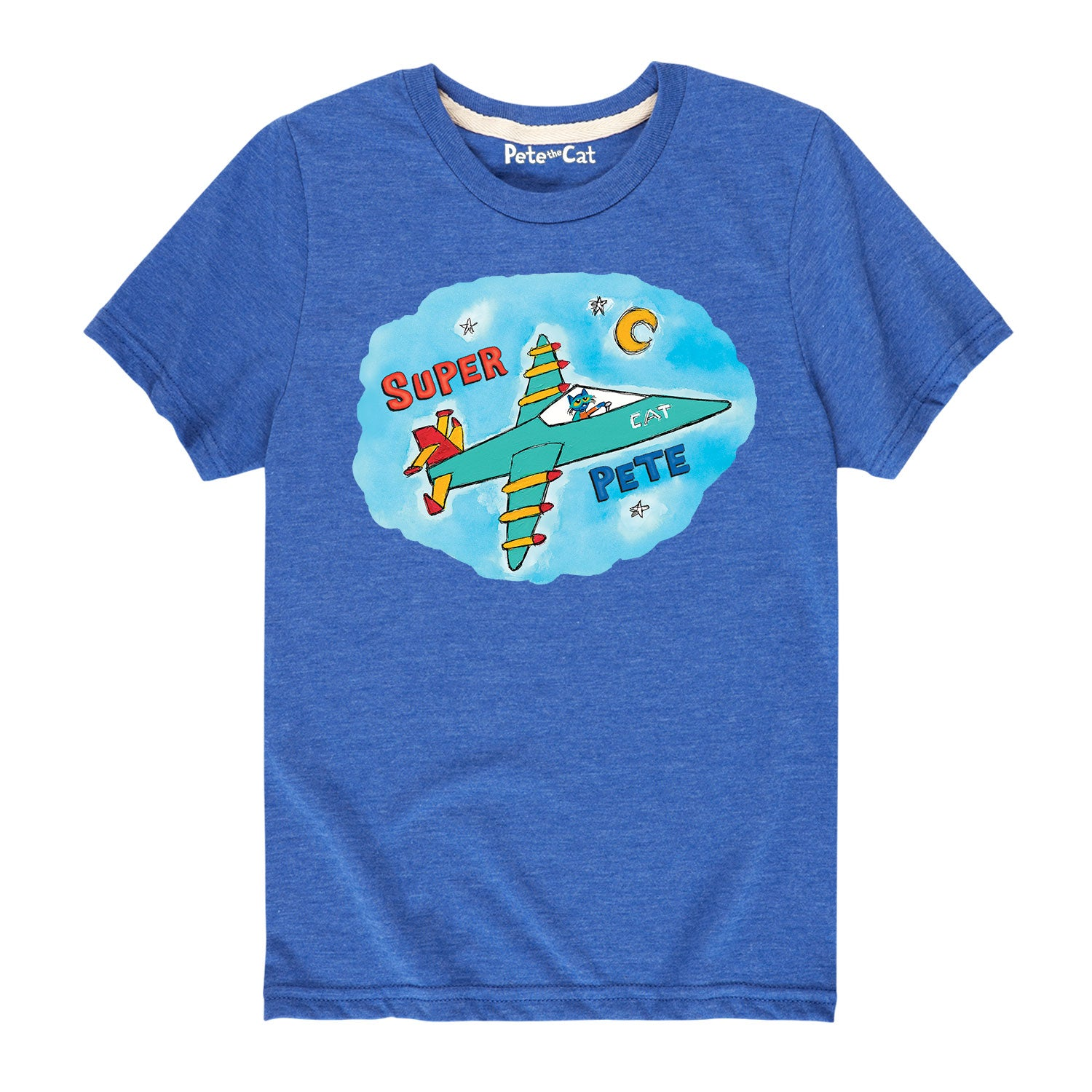 Super Pete In Jet - Youth & Toddler Short Sleeve T-Shirt