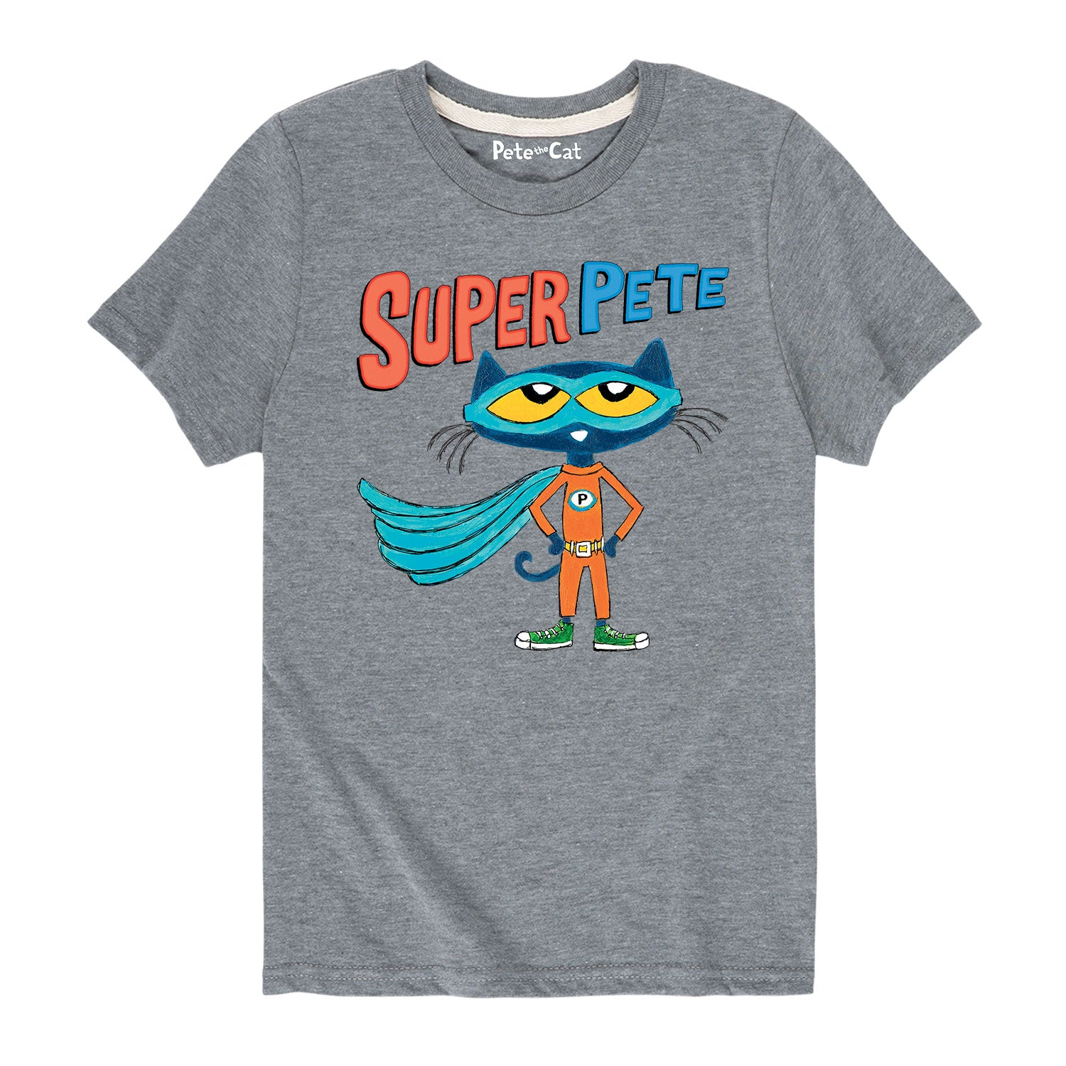Super Pete With Cape - Youth & Toddler Short Sleeve T-Shirt
