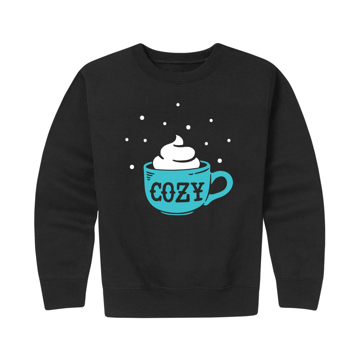 Cozy Mug - Youth & Toddler Crew Neck Fleece