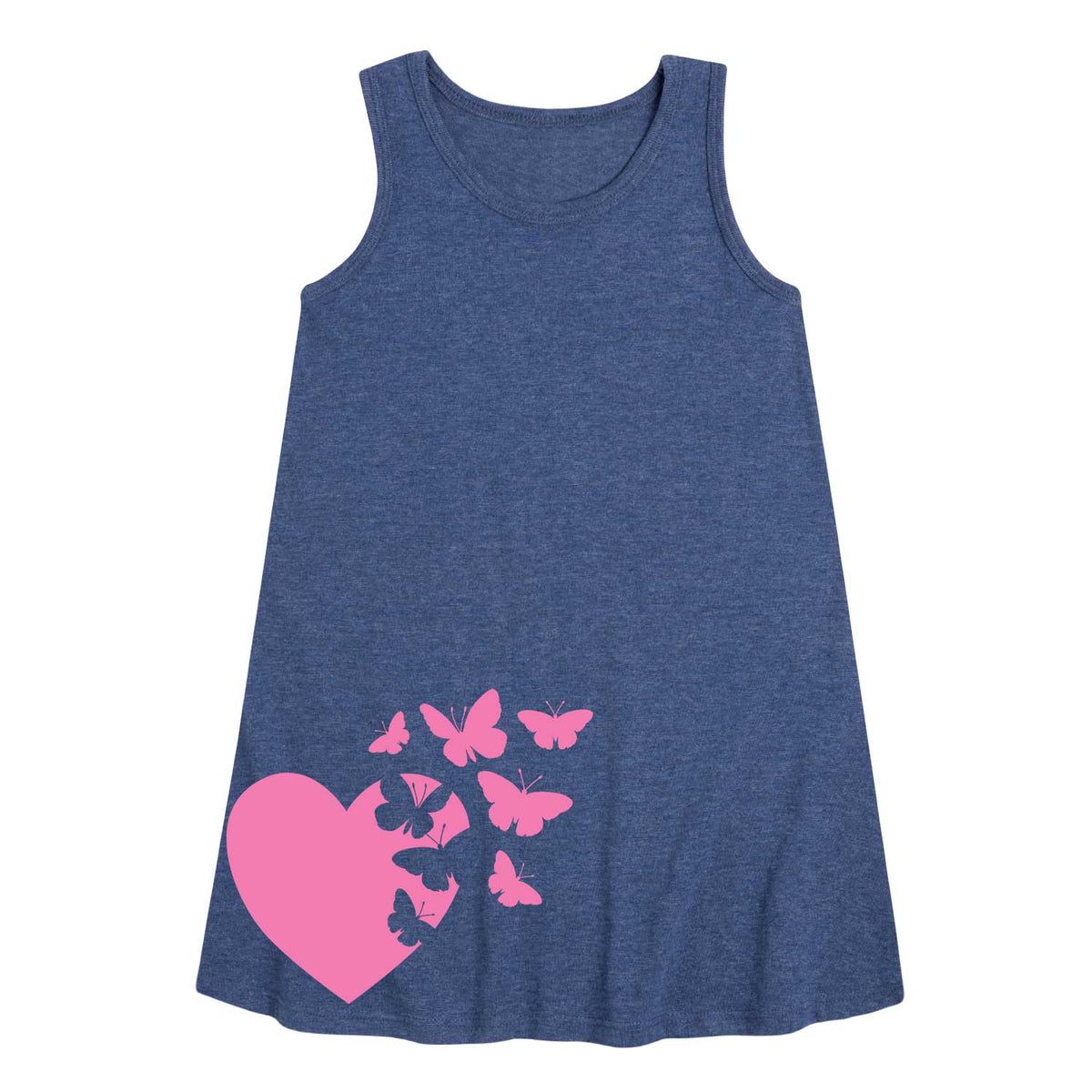 Heart Butterflies - Youth & Toddler A-Line Dress