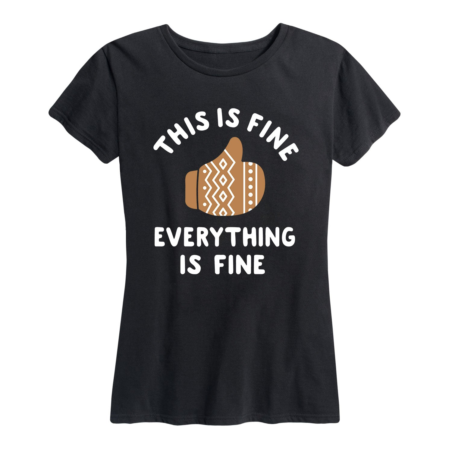 This is Fine Mittens - Women's Short Sleeve T-Shirt