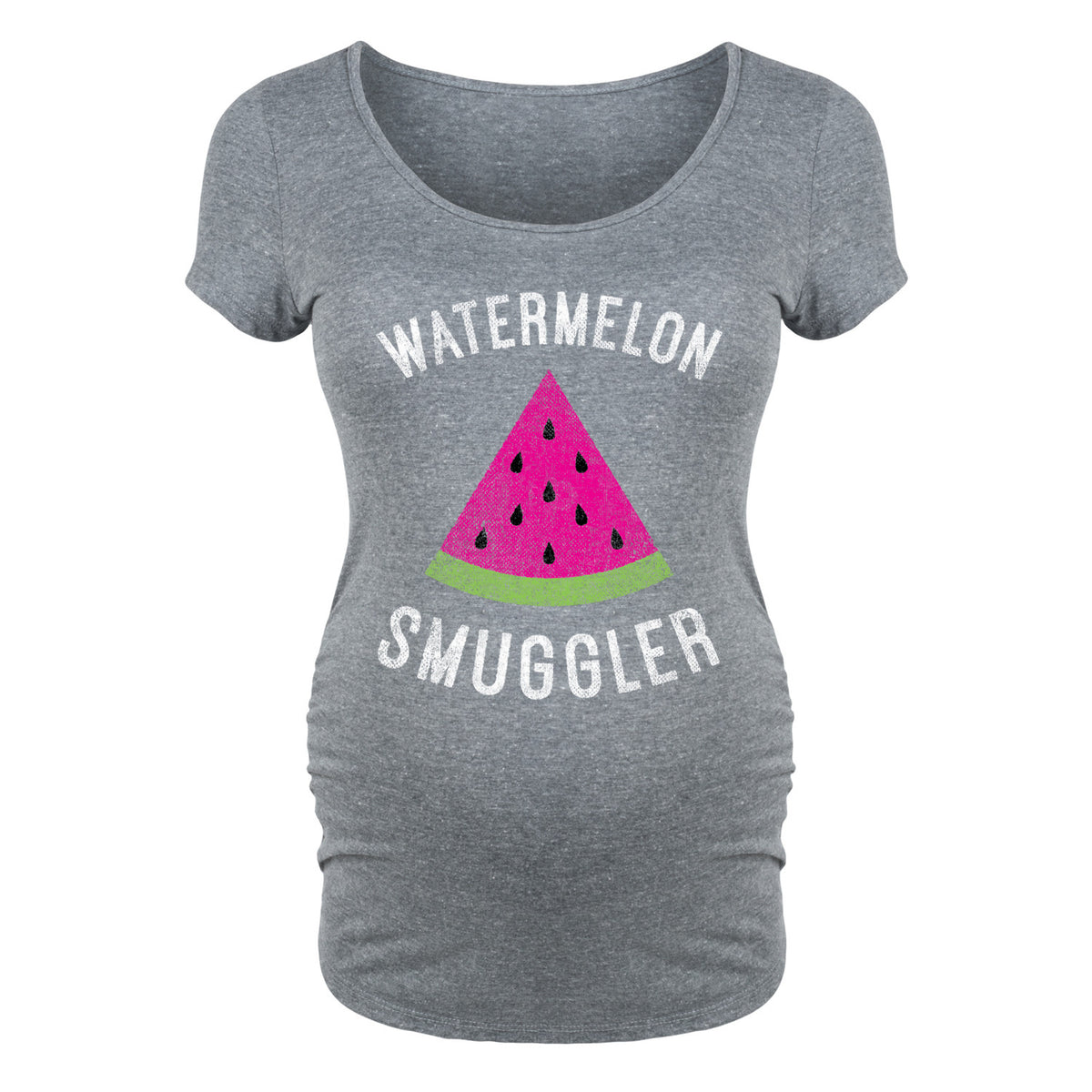 Watermelon Smuggler - Maternity Short Sleeve T-Shirt