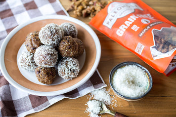 Maple Cacao Energy Balls