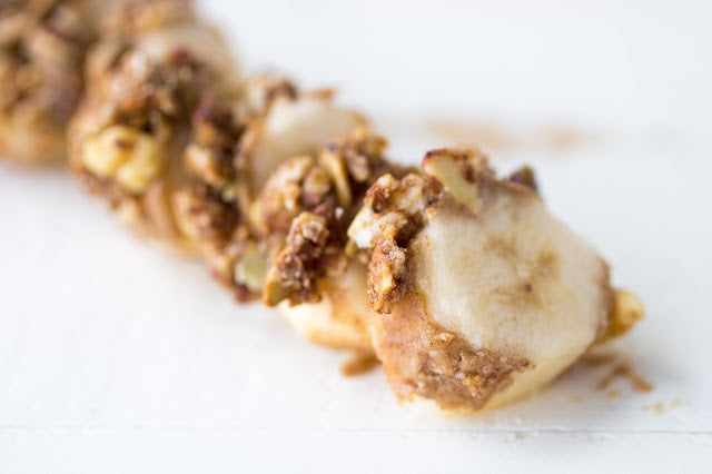 Maple Pancake Banana Bites