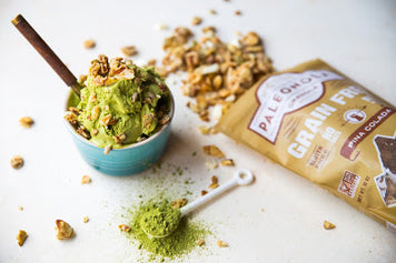 Paleo Matcha Ice Cream