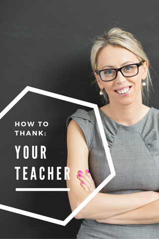 how to thank your teacher