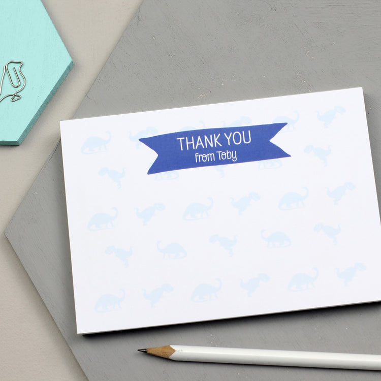 Thank You Dinosaur Notepad (A6)